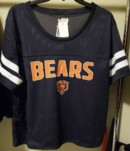 NFL Team Apparel Chicago Bears Womens Size XL Jersey T-Shirt NWT - $11.97