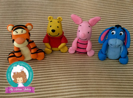 Winnie the  Pooh and friends inspired fondant cake topper - $100.00