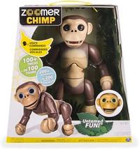 Zoomer Chimp Spin Master Interactive Robot Chimpanzee - $215.00