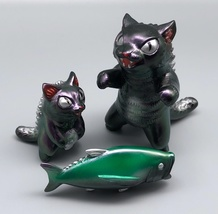 MaxToy Color-Shifting Metallic Purple/Green Negora, Micro Negora, and Fish image 5