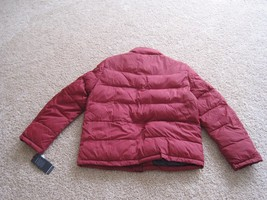 BNWT Tommy Hilfiger Mens Puffer Jacket, L, Red, Wind resistant, Super warm, $195 image 6