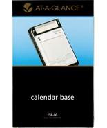 "AT-A-GLANCE Desk Calendar Base, Pad Style, 5"" x 8"", Refillable, Black (E... - $13.20"