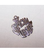 Sterling Silver Special Teacher Charm-1 inch tall, 7/8 inch wide - $7.50