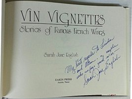 Vin vignettes: Stories of famous French wines English, Sarah Jane - $7.16