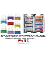 Wahl 5 in 1 Blade Stainless Steel Attachment Guide COMB SET For Li+Pro,E... - $78.74