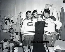 1950's Montreal Canadiens  Boom Boom The Rocket in Dressing Room 8 X 10 ... - $8.99