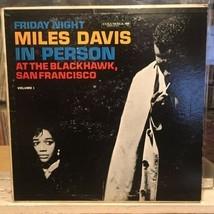 [JAZZ]~EXC/VG+ LP~MILES DAVIS~IN PERSON~At The BLACKHAWK~FRIDAY NIGHT~[1... - £23.68 GBP