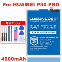 Losoncoer 4600mAh HB486486ECW Battery For Huawei P30Pro P30 Pro Battery For Huaw - $20.87