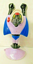 Vntg 1989 Mighty Mouse figure - New Adventures Bat - Suction cup - Wendy's - $7.42
