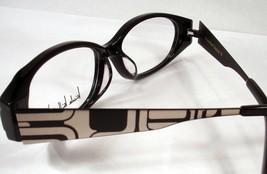 Nicole Miller Standout Black Women New Eyeglasses Eyewear Frames - $49.49