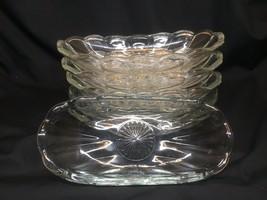Vintage Anchor Hocking Fountainware Banana Split Bowls Boats Set of 6 - $29.68