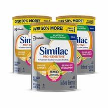Similac Pro-Sensitive Non-GMO Infant Formula with Iron, with 2'-FL HMO, ... - $144.06