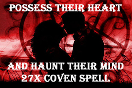 HAUNTED 27X POSSESS THEIR HEART & HAUNT THEIR MIND LOVE EXTREME MAGICK 9... - $45.77