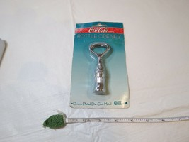 Coca Cola Bottle Opener Chrome Plated Die Cast Metal 8932 COKE diner collection - $20.83