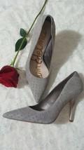Sam Edelman Dean  Women's  Gray Leather Studded Heels Pointy Toe Pumps Sz 8 NEW - $79.10