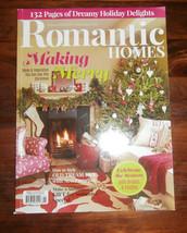 Romantic Homes Magazine November 2015 Making Merry  - $6.89