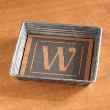 Monogram Keepsake Tray W - $13.83