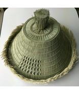Japanese Samurai Hat Roningasa Edo Style Hand Made New - $420.63
