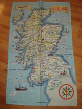 Collectible Kitchen Towel O'Groats SCOTLAND Pure Cotton  New - $11.88