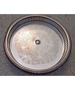 "Vintage (60's) Silverplate 10"" Tray - $8.15"