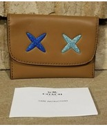 Coach-- Glitter Cheeky Card Pouch-- F22957 Brown-- Authentic NWT - $38.00
