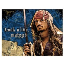 Pirates of the Caribbean 4 Party Invitations 8 Per Package Party Supplies NEW - $3.91