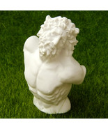 Bust of Laocoon Roman Sculpture Statue Miniature Replica Reproduction Ar... - $10.99