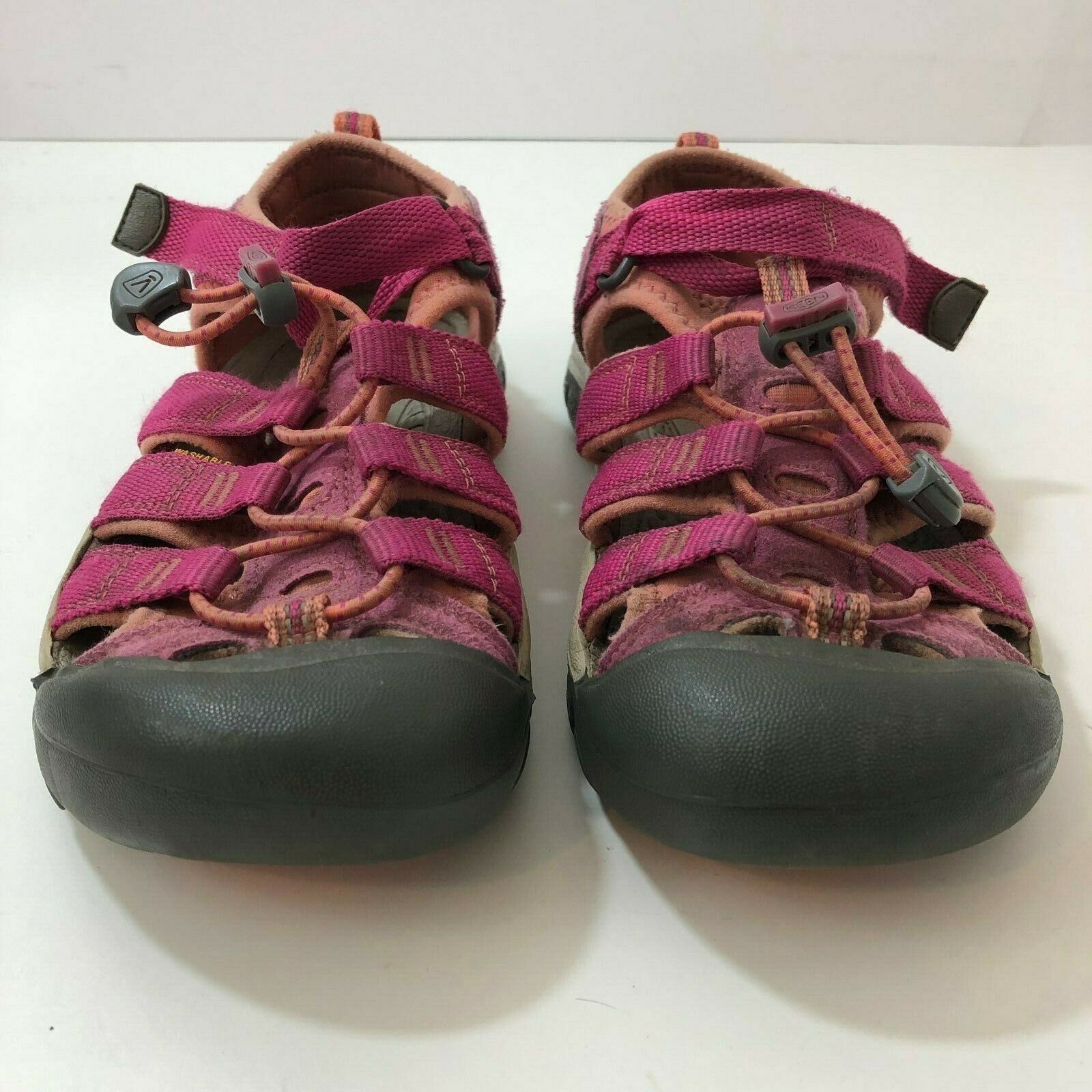 KEEN Newport H2 Red Orange Waterproof Sport Sandals Womens US Size 3
