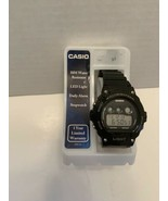 Casio Men Illuminator W214HC-1AV Chronograph 50m Water Resist black Watc... - $21.75