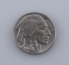 1937 Buffalo Nickel 5c Gem (BU) Brilliant UNC Condition Excellent Eye Ap... - $31.19