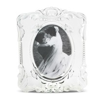 "MIKASA ""PRINCES"" PICTURE Frame PHOTO 5"" X 7"" OVAL CRYSTAL MADE IN GERMAN... - $49.60"