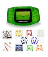 GBA Nintendo Game Boy Advance Replacement Housing Shell PRE-CUT FOR 101 MOD - $11.83+