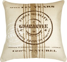 Pillow Decor - Quality Guarantee Brown Print Throw Pillow - $69.95