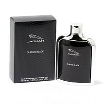Jaguar Eau de Toilette Spray for Men, Black, 3.4 Ounce (3.4 oz) - $28.05