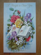 Vintage A Thought To Cheer You Greeting Card  - $1.99