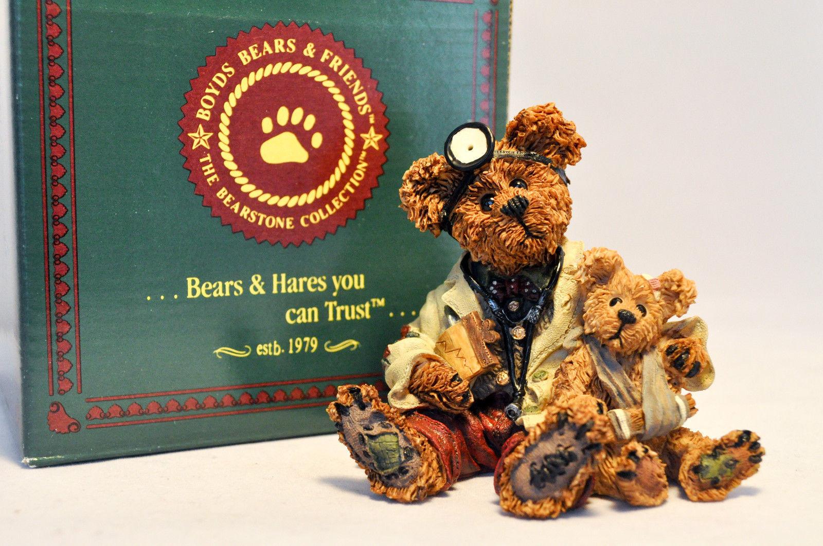 Boyds Bears: Dr Harrison Griz ... MD, PHD, Bud - Style 228309
