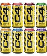 C4 Original On the Go Carbonated Explosive Energy Drink (Random Sampler,... - $19.79
