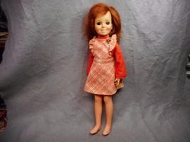 "VINTAGE IDEAL 18"" CRISSY DOLL # GH-18 RED HAIR 1969 N/R - $14.99"