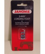 3-Way Cording foot by Janome- CLOSEOUT! Fits many makes and models! - $5.86