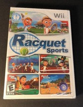 Wii Racquet Sports (Nintendo Wii, 2010) NEW FACTORY SEALED - $19.31