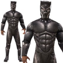 Adult Black Panther 2018 Film Infinity War Fancy Dress Halloween Costume... - $53.64