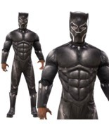 Adult Black Panther 2018 Film Infinity War Fancy Dress Halloween Costume... - €48,46 EUR