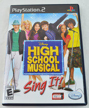 High School Musical - Sing It! Sony PS2 Game 100% Complete - $1.49