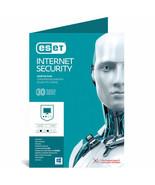 Physical Key Card Nepal of ESET NOD32 AntiVirus 2018 3 PCs 1Year Windows... - $18.09 CAD