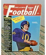 Street & Smiths College Football 1963 Paul Martha Pitt Panters FAIR GOOD - $11.29