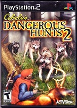 Playstation 2, Cabela's Dangerous Hunts 2, Rated T For Teen, Activision ... - $1.99