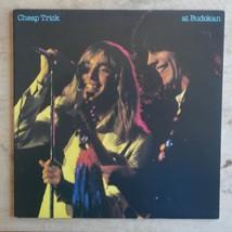 *W/ Photo Booklet* Cheap Trick At Budokan 1979 Vinyl LP Epic Records FE ... - $32.86