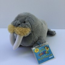 "Ganz Webkinz Walrus HM332 Plush Stuffed Animal 9"" w/ Sealed Code - $7.91"