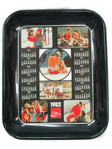 Coca-Cola Calendar Tray 1982 Canada Ad Collage - $6.93