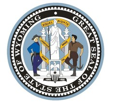 Wyoming State Seal Sticker Made In The Usa R565 - $1.45+